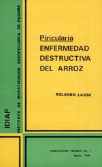 Piricularia : enfermedad destructiva de arroz