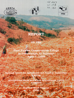 Report on the First Fair on Conservation Tillage in Guaymango, El Salvador, April 7, 1995.