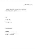 Application of WIS wave models in verification study