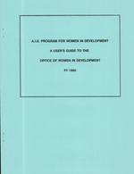 A.I.D. program for women in development
