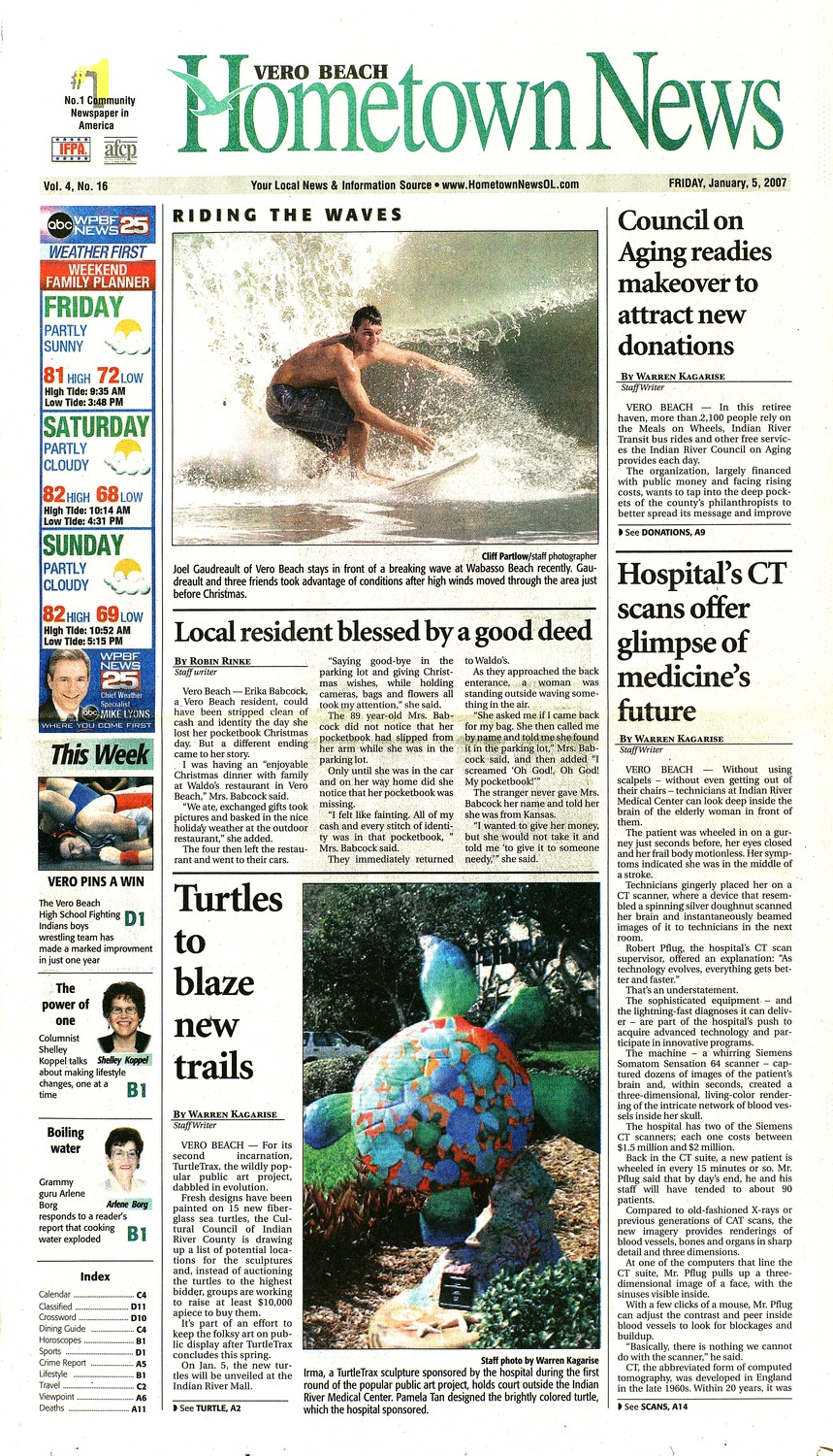 Hometown news (Vero Beach, FL)  2007