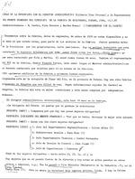 Notas de la entrevista con el Director Administrativo (Gilberto Dias Persona) y la Representate del frente femenino del sindicato de la fabrica de Ari