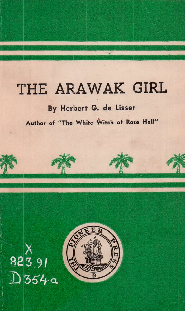 The Arawak girl - Front Cover