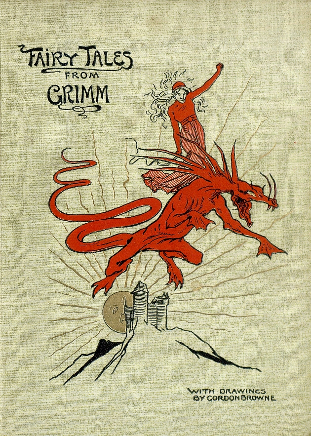 Fairy tales from Grimm  - Front Cover 1