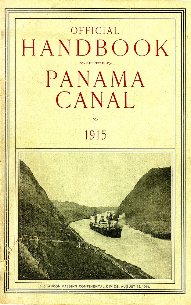 Official Handbook of the Panama Canal - Cover 1