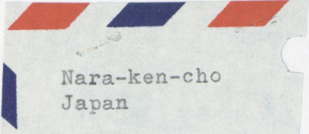 Address of Ryozo Okuda