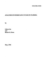 Analysis of hurricane cycles in Florida