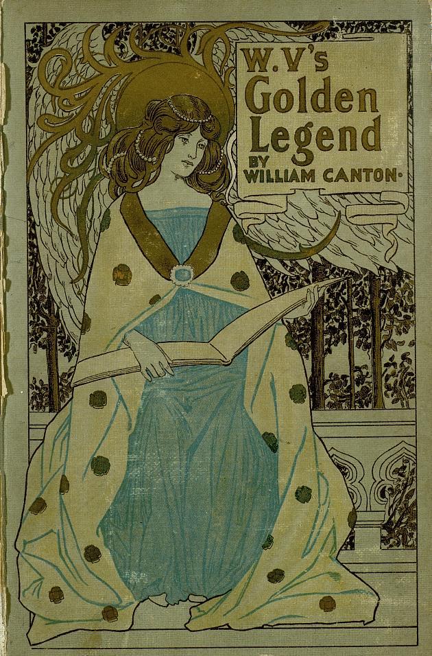 W. V.'s golden legend  - Front Cover 1