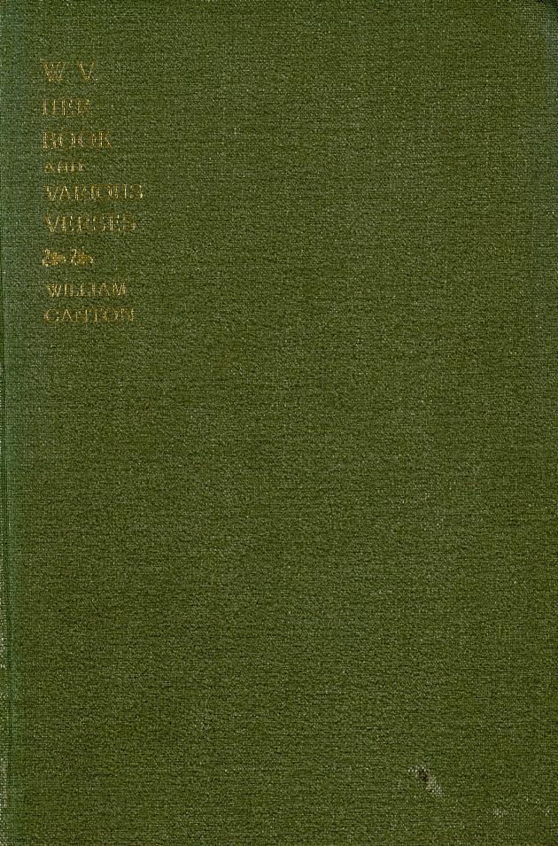 W.V. her book  - Front Cover 1