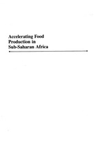 Accelerating food production in Sub-Saharan Africa