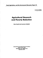 Agricultural research and poverty reduction