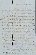 Adair, Etta A. (mother) to Etta A. Anderson (daughter) – Dec. 31, 1850 – Oakland
