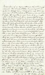 Agreement: J. Patton Anderson and Dr. Robert Scott and Cromwell Adair – Nov. 16, 1859