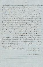 Agreement: J. Patton Anderson and A.G.A. Godwin – Feb. 21, 1860