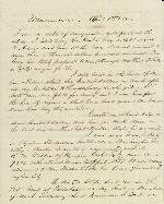 Financial Memorandum of J. Patton Anderson – Apr. 1, 1861