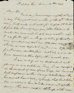 Anderson, J. Patton to Etta A. Anderson – Dec. 18, 1863 – Dalton, GA