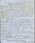Military Convention: Supplementary Terms – Apr. 26, 1865. (Manuscript).