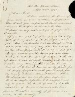 Kinchloe, D.A. to J. Patton Anderson – Apr. 28, 1865. (Manuscript)