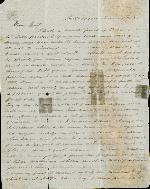 Gamble, Carey B. to J. Patton Anderson – Jun. 14, 1865 – Tallahassee, FL