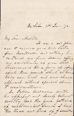 Bragg, Braxton to Etta A. Anderson – Jun. 15, 1873 – Mobile, AL