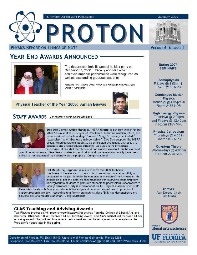 PROTON ; vol. 6 no. 1 - Page 1