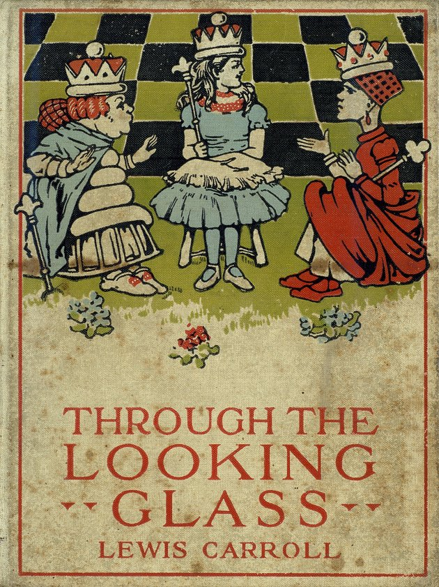 Through the looking glass  - Front Cover 1