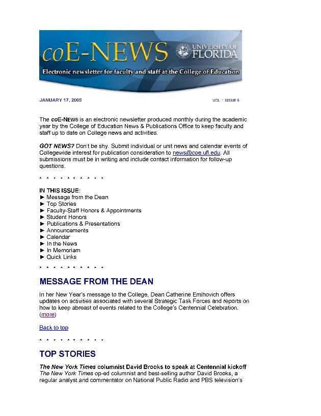 coE-News - Page 1