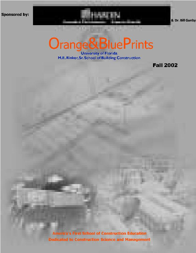 Orange and blueprints ; vol. 66 no. 2 - Page 1