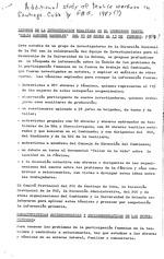 Cuban textile workers preliminary data: Ideas sueltas - para el analisis