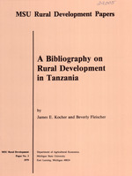 A bibliography on rural development in Tanzania
