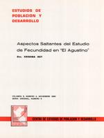 """Aspectos saltantes del estudio de fecundidad en """"El Agustino"""""""