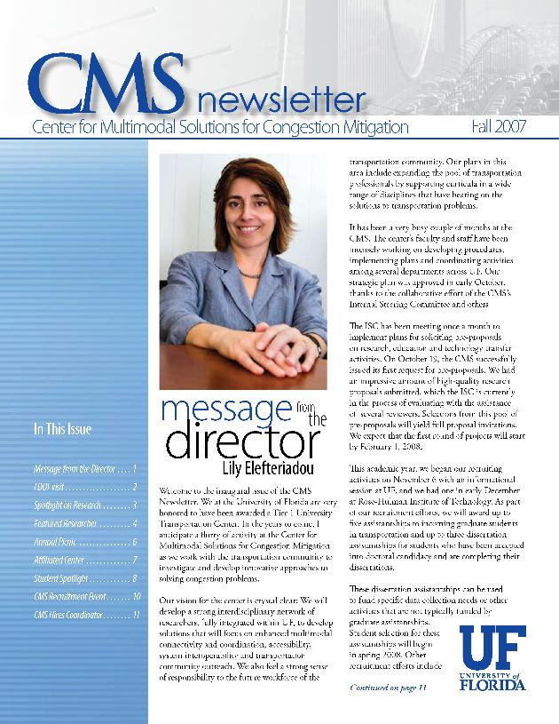 CMS newsletter - Page 1