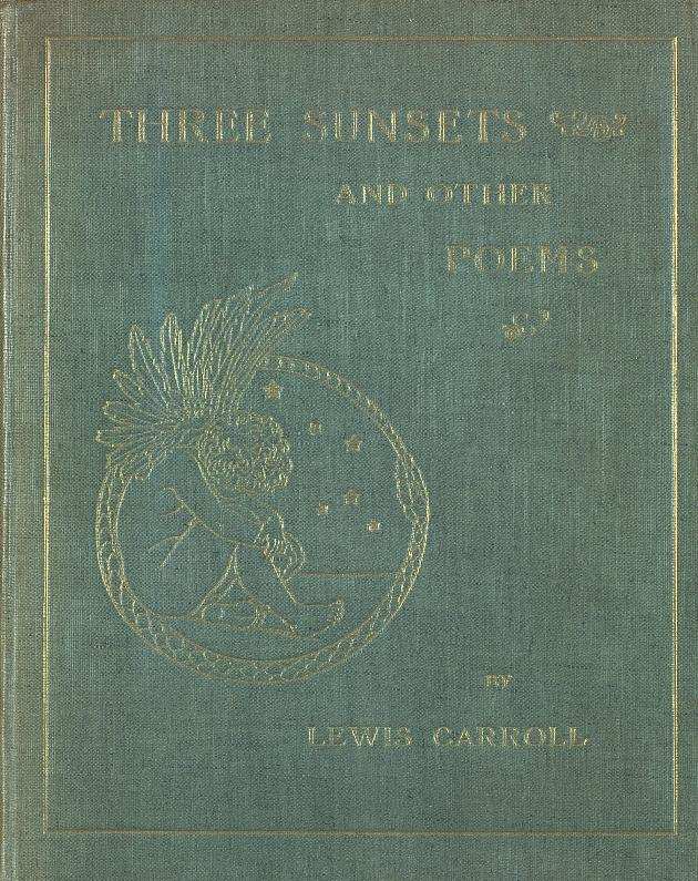 Three sunsets and other poems  - Front Cover 1