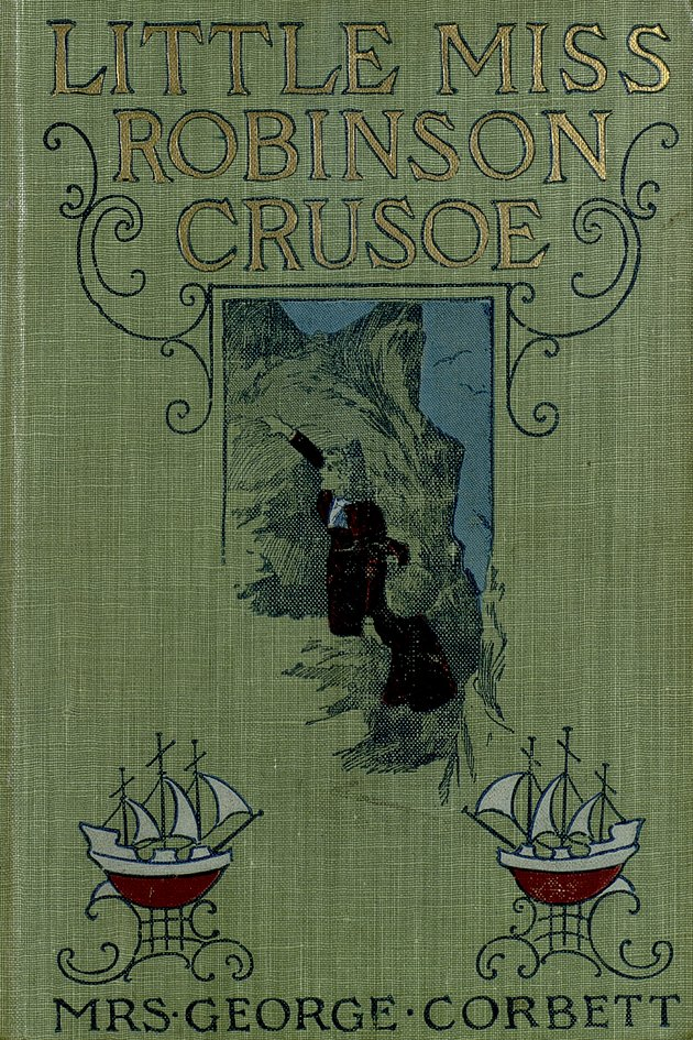 Little Miss Robinson Crusoe  - Front Cover 1