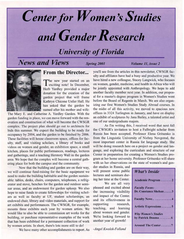 News and views - Page 1