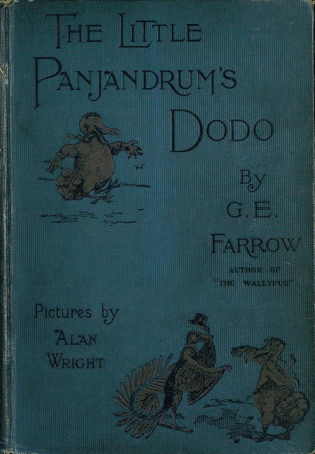 The Little panjandrum's dodo  - Front Cover 1