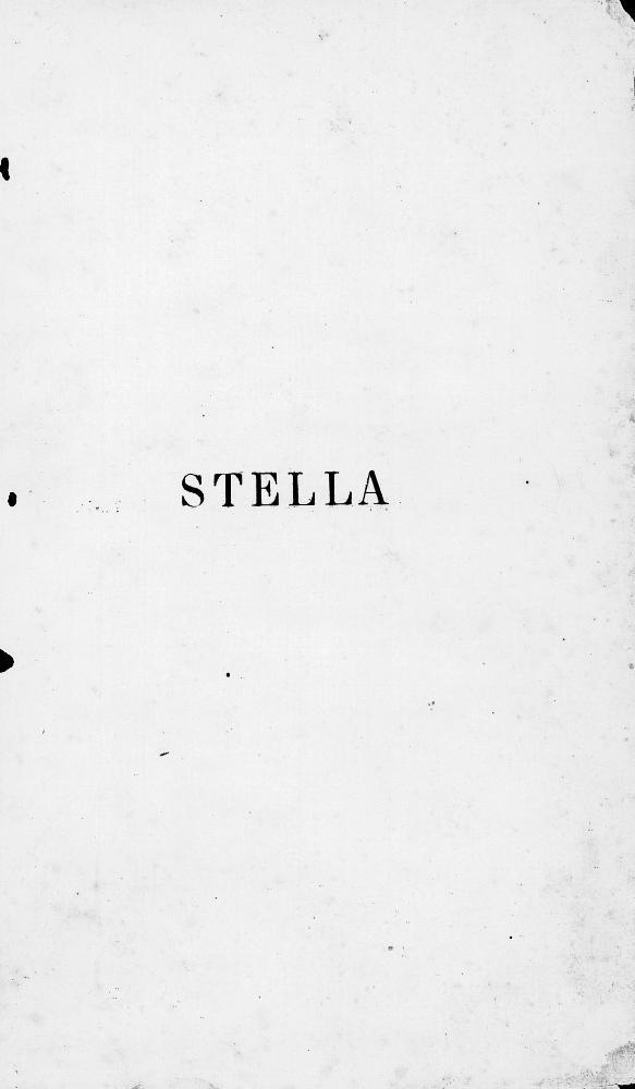 Stella - Page i