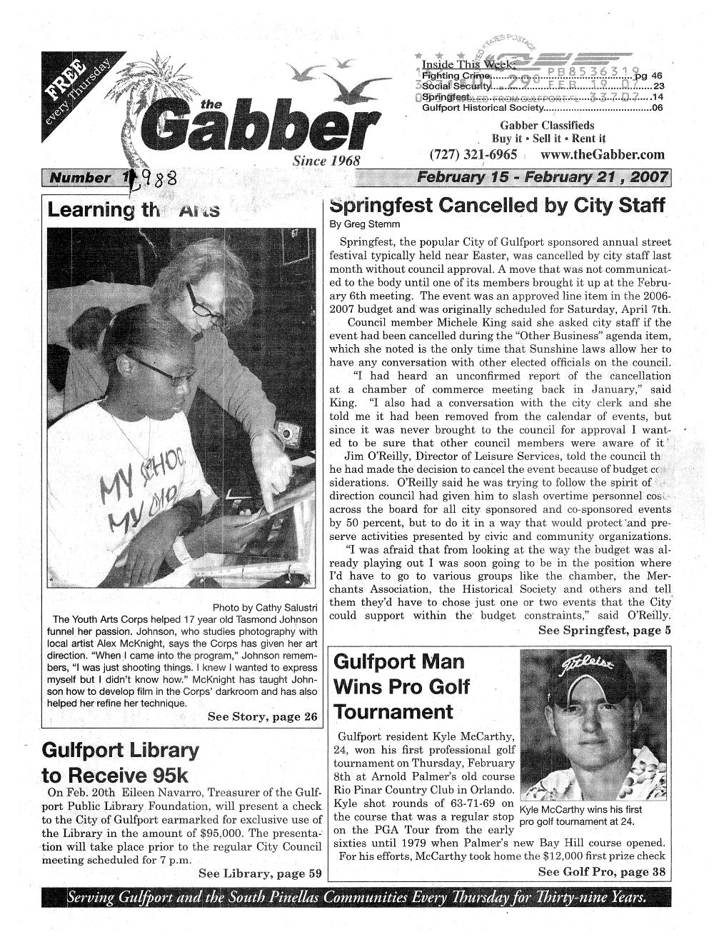 Gabber - page 1
