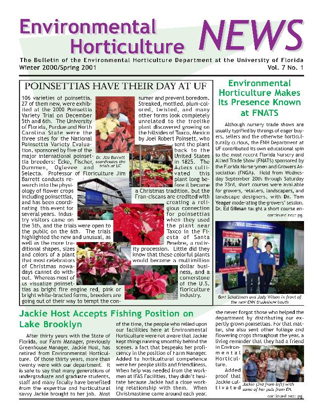 Environmental horticulture news - Page 1