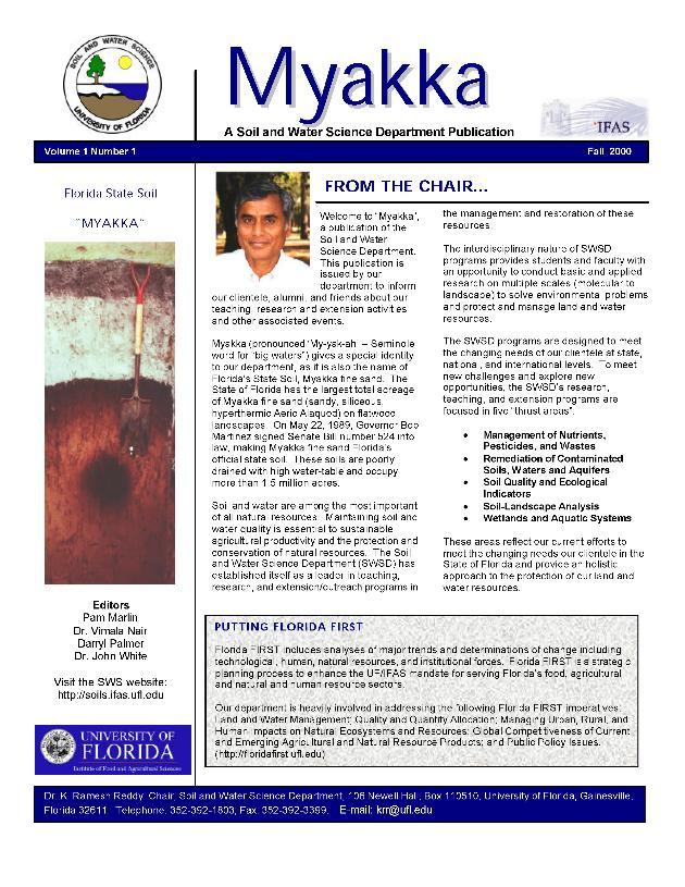 Myakka - Page 1