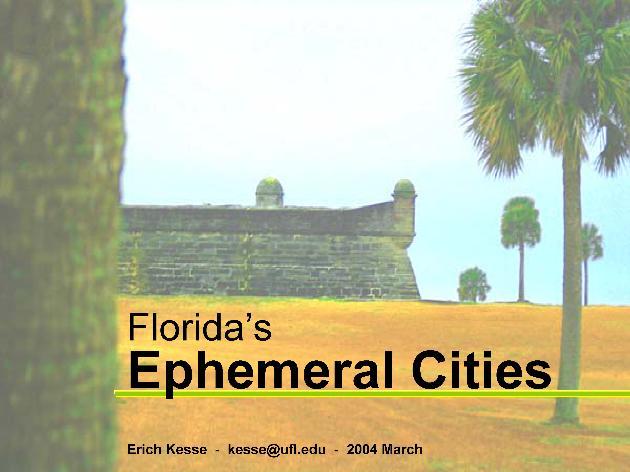 Florida's Ephemeral Cities - Page 1