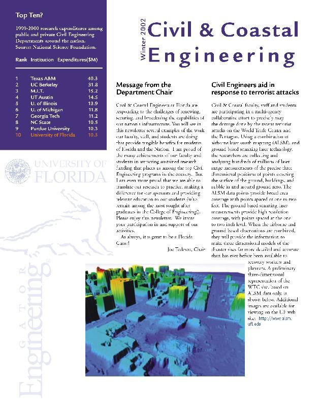 Civil & coastal engineering newsletter - Page 1