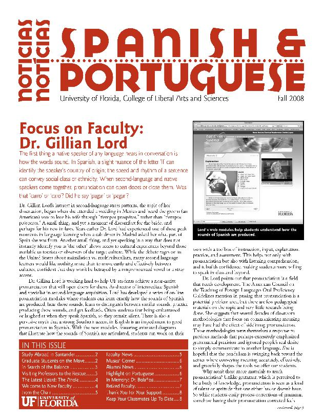 Spanish & Portuguese Studies news - Page 1