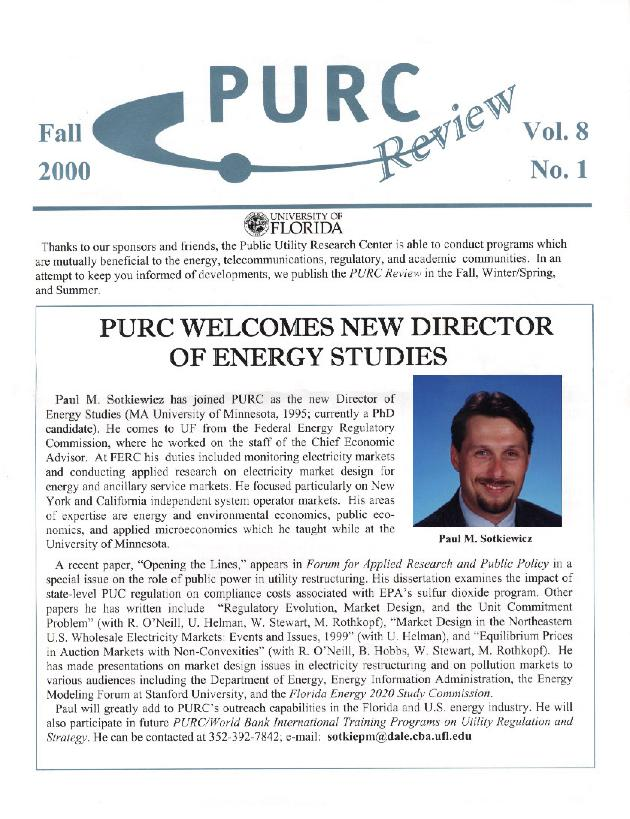 PURC review - Page 1