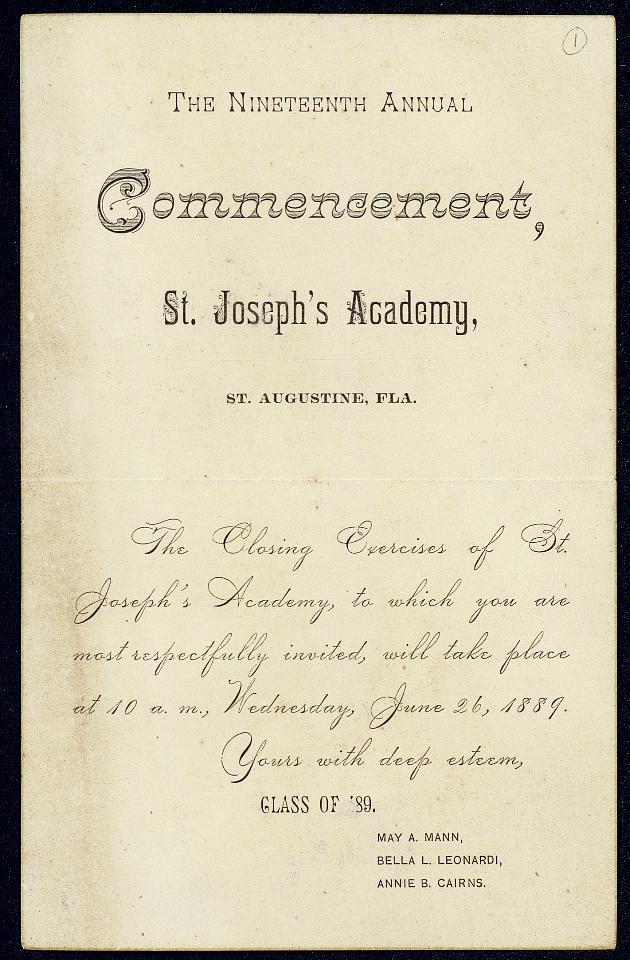Correspondence: 1889-1900 - Still Image #1