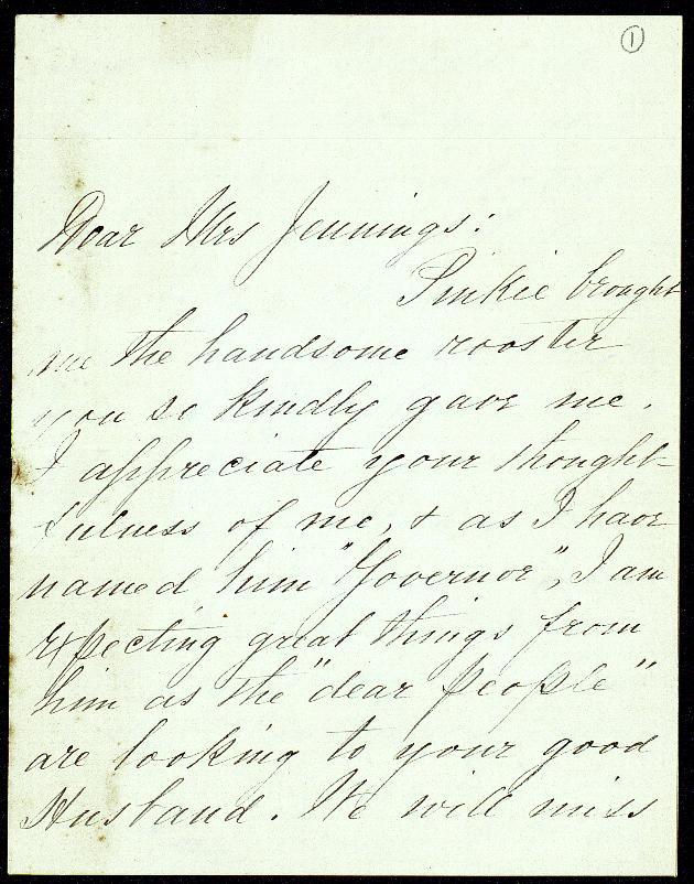 Correspondence: 1901 August-December - Still Image #1