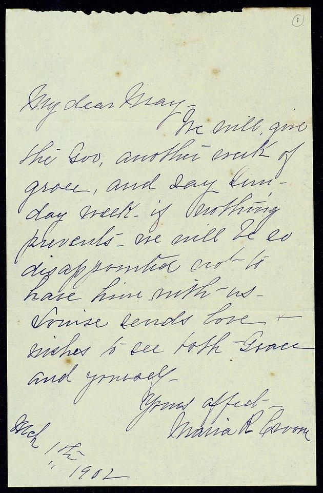 Correspondence: 1902 January-May - Still Image #1