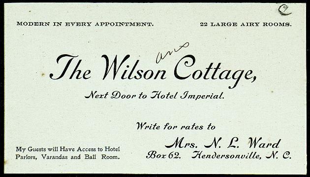 Correspondence (Invitations): 1901-1902 - Still Image #1