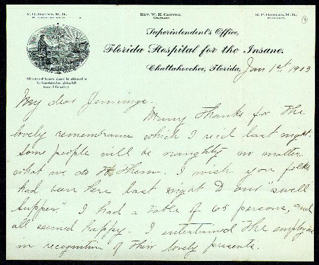 Correspondence: 1903 January-May - Still Image #1