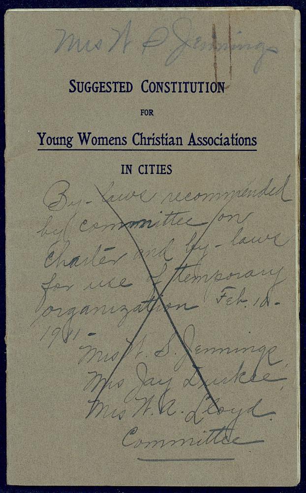 Correspondence: 1909 - Still Image #1